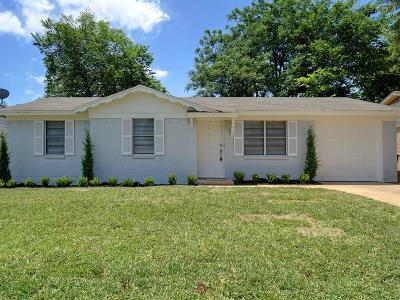 Hurst, Euless, Bedford Single Family Home Active Option Contract: 817 Bryan Drive