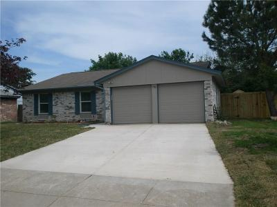Mansfield Single Family Home Active Option Contract: 702 Meadowview Drive