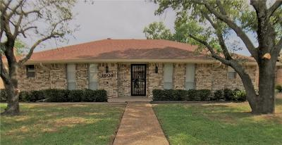 Irving Single Family Home For Sale: 1608 Drexel Drive