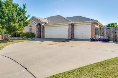 Johnson County Single Family Home Active Option Contract: 404 Hidden Trail Court