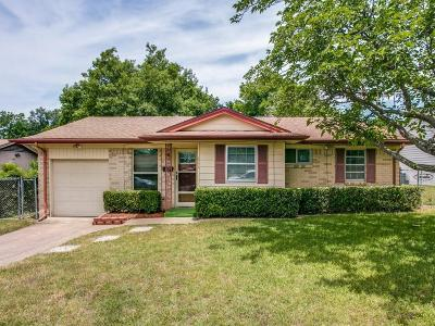 Duncanville Single Family Home Active Option Contract: 611 Sun Valley Drive