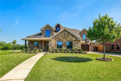 Keller Single Family Home Active Option Contract: 709 Regal Crossing