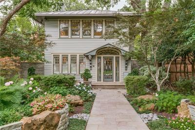 Single Family Home For Sale: 3649 Maplewood Avenue
