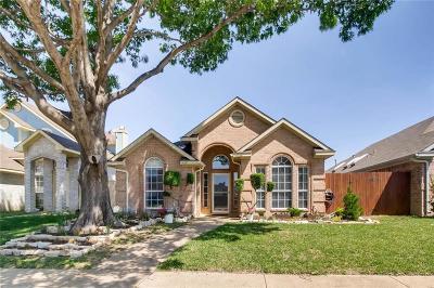 Rowlett Single Family Home Active Option Contract: 1417 Post Oak Drive