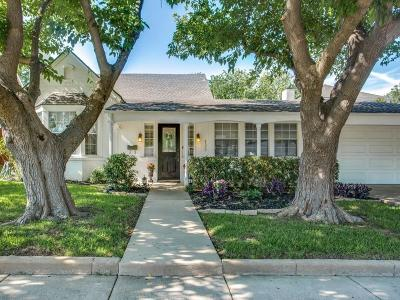 Fort Worth Single Family Home For Sale: 4520 Birchman Avenue