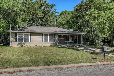 Canton TX Single Family Home Active Option Contract: $139,500