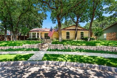 Coppell Single Family Home Active Option Contract: 108 Greenwood Court