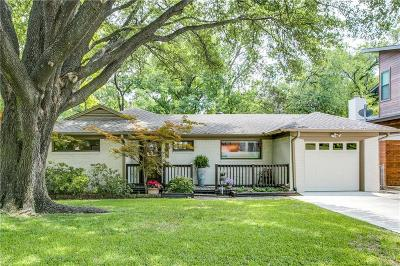 Dallas Single Family Home For Sale: 6748 Patrick Drive