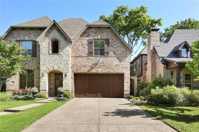 Dallas Half Duplex For Sale: 5619 Matalee Avenue