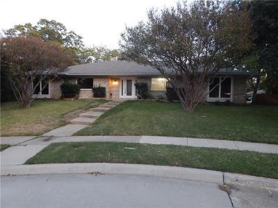Carrollton Single Family Home For Sale: 1408 Northridge Court