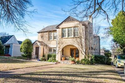 Fort Worth Single Family Home For Sale: 3812 W 4th Street