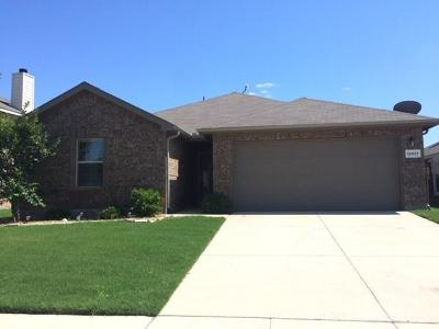 Rhome TX Single Family Home Active Option Contract: $165,000