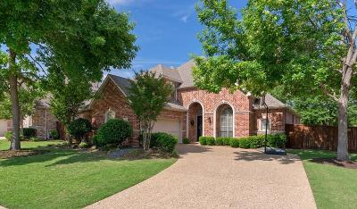 Allen Single Family Home Active Option Contract: 619 Wills Point Drive