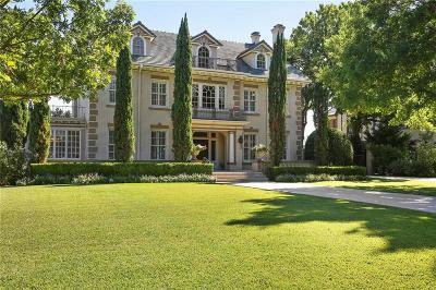 Dallas Single Family Home For Sale: 5124 Swiss Avenue