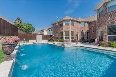 Coppell Single Family Home Active Option Contract: 105 Corsica Court