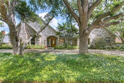 Dallas Single Family Home For Sale: 7109 McKamy Boulevard