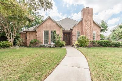Coppell Single Family Home Active Option Contract: 207 Salem Court