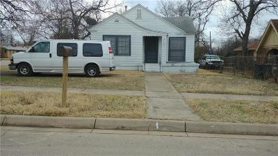 Fort Worth Single Family Home For Sale: 3732 Ada Avenue