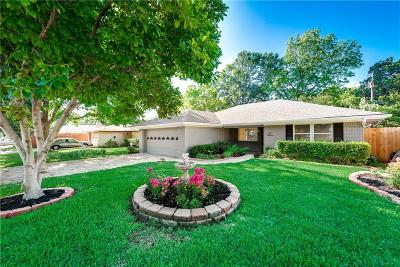 Irving Single Family Home Active Option Contract: 2612 Conflans Road