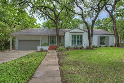 Fort Worth Single Family Home For Sale: 508 N Bailey Avenue