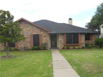 Carrollton Single Family Home Active Option Contract: 1728 Mayflower Drive