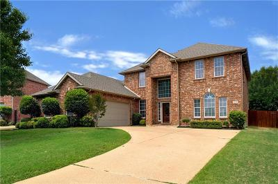 Keller Single Family Home Active Option Contract: 1526 Chase Oaks Drive