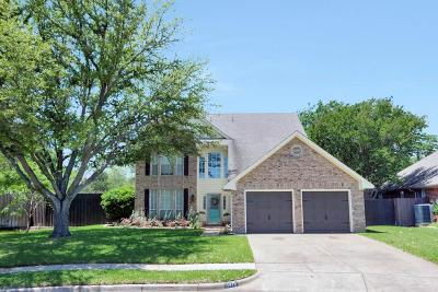 Grapevine Single Family Home Active Option Contract: 1914 Wood Crest Drive