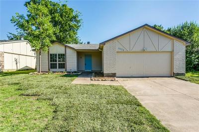Fort Worth TX Single Family Home For Sale: $194,900