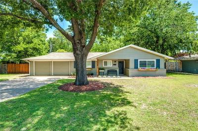 North Richland Hills Single Family Home Active Option Contract: 4700 Cummings Drive