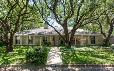 Fort Worth Single Family Home For Sale: 5309 Benbridge Drive