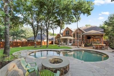 Flower Mound Single Family Home Active Option Contract: 4206 Liberty Court