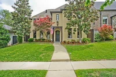 Fort Worth Single Family Home For Sale: 4723 Lafayette Avenue