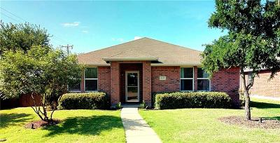 Rockwall Single Family Home Active Option Contract: 3137 Coolwood Lane