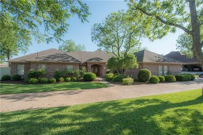 Granbury Single Family Home Active Kick Out: 5605 Flagstick Drive