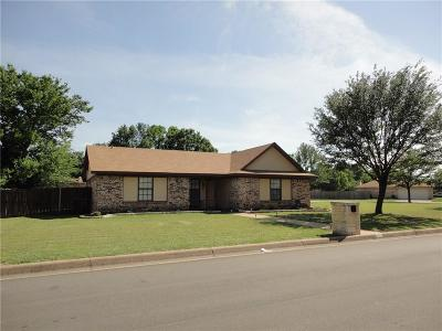 Benbrook Single Family Home Active Option Contract: 1600 Tobie Layne Street