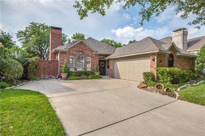 Irving Single Family Home Active Option Contract: 729 Marble Canyon Circle