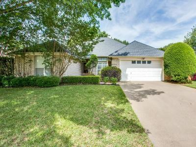 Colleyville Single Family Home Active Option Contract: 5300 Fox Trail Lane