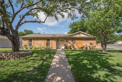 Burleson Single Family Home Active Option Contract: 561 NW Douglas Street