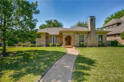 Richardson Single Family Home Active Option Contract: 1219 Stratford Drive