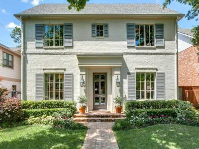 University Park Single Family Home For Sale: 4520 Shenandoah Street