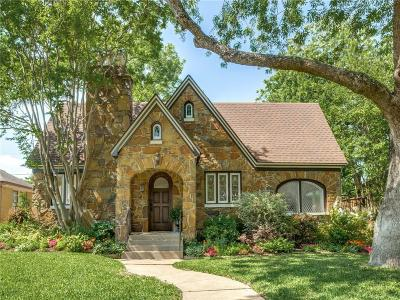 Dallas Single Family Home For Sale: 5439 Morningside Avenue