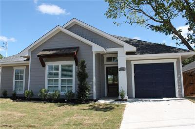 Waxahachie Single Family Home For Sale: Lot 4 Ross Street E