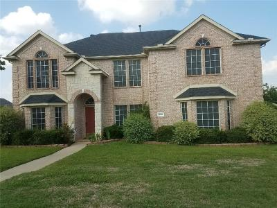 Mansfield Single Family Home Active Option Contract: 3002 Upland Drive