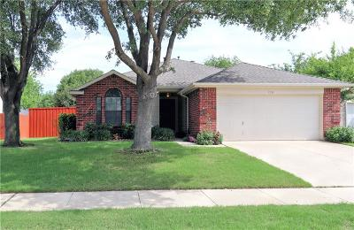 Flower Mound Single Family Home Active Option Contract: 736 Teakwood Drive
