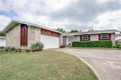Dallas Single Family Home For Sale: 9646 Vinewood Drive