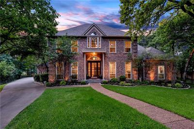 Colleyville Single Family Home Active Option Contract: 6404 Kenshire Court