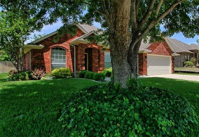 Saginaw Single Family Home Active Option Contract: 836 Sky Creek Court