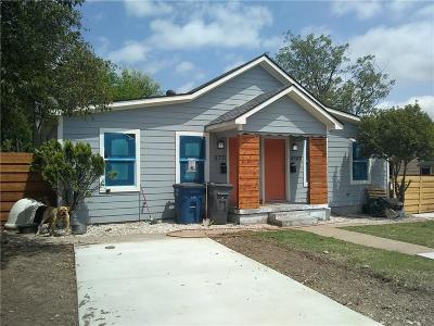 Dallas Half Duplex For Sale: 3709 Mount Royal Street