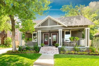 Fort Worth Single Family Home For Sale: 1511 Alston Avenue