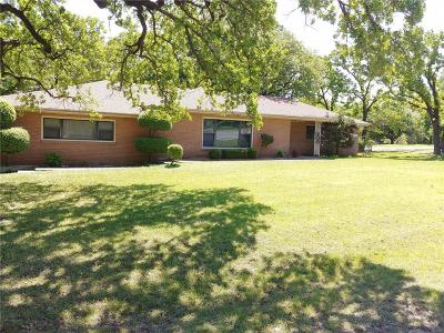 Azle Single Family Home For Sale: 300 Walnut Avenue